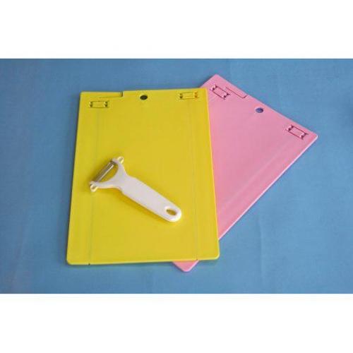 ツーウィングボード&皮引き3点セット ツーウィングボード:イエロー・ピンク(各1)