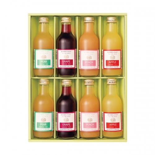 りんご村からのおくりもの 果汁100%ジュース詰合せ