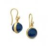 PRIME EARRING/SAPPHIRE BLUE CRYSTAL