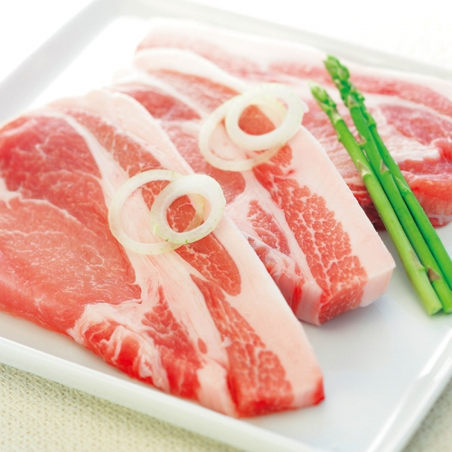 北海道・上富良野 地養豚ロースステーキ5枚セット