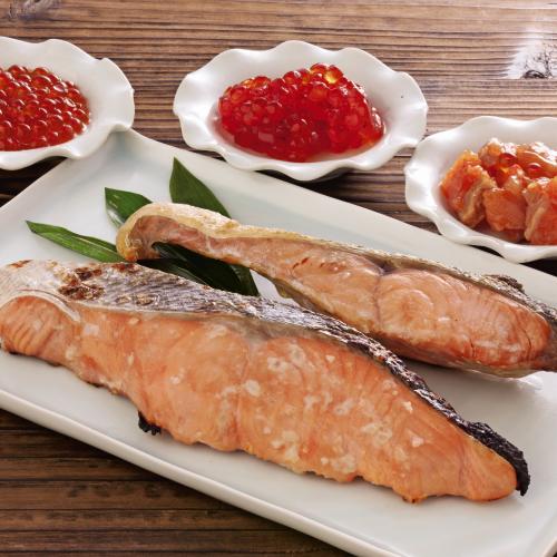 北海道産 こだわり切身と魚卵詰合せ