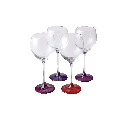 LSA ワイングラス4色セット