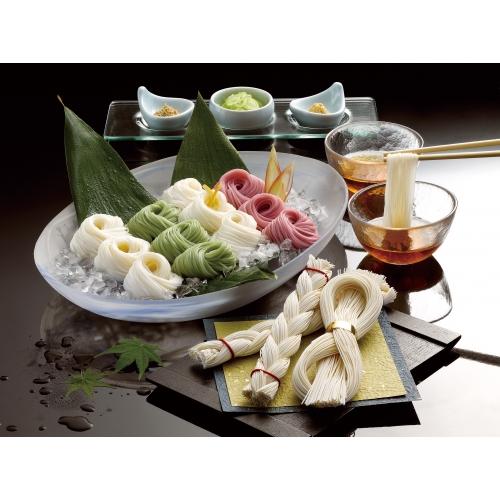 島原手延素麺(末広・編み入り)