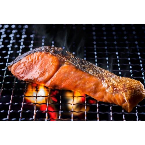 塩紅鮭切身 樽入