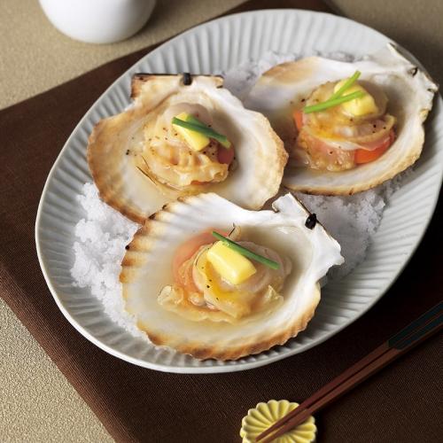 北海道のほたて片貝8枚