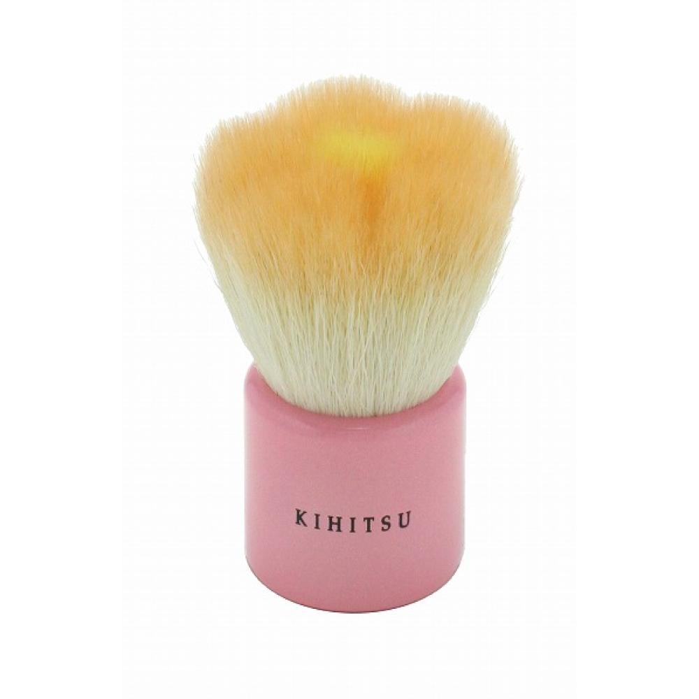 【熊野筆 KIHITSU】フラワー洗顔ブラシ(オレンジ)