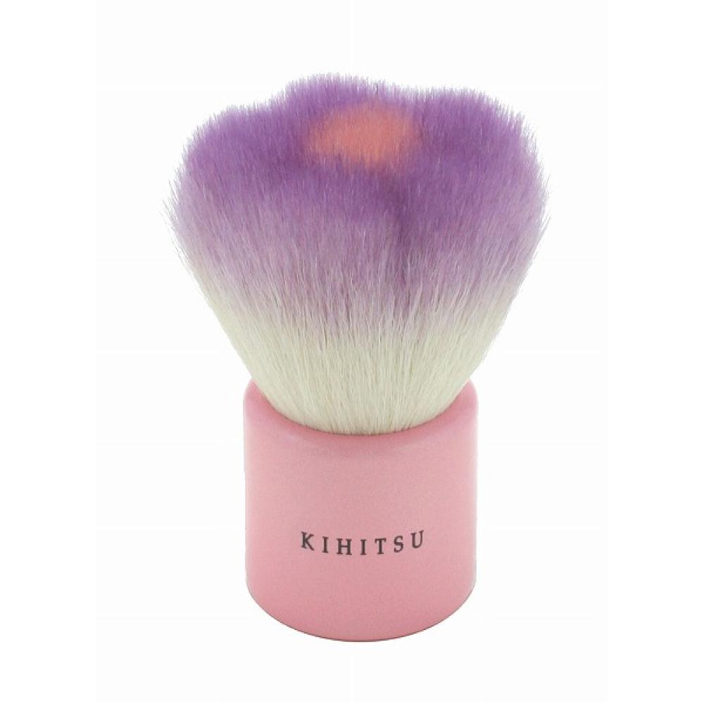 【熊野筆 KIHITSU】フラワー洗顔ブラシ(パープル)
