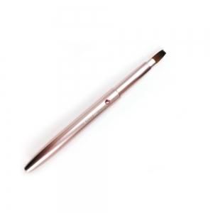 【熊野筆 KIHITSU】携帯リップブラシ(ピンク)