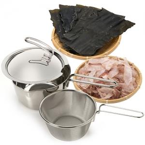 だしとり鍋と海のだしセット