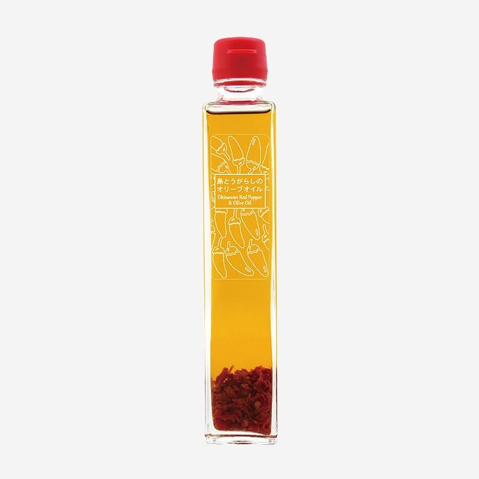 【ヘリオス酒造】島とうがらしのオリーブオイルセット