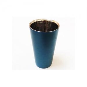 漆磨ストレートカップ 青