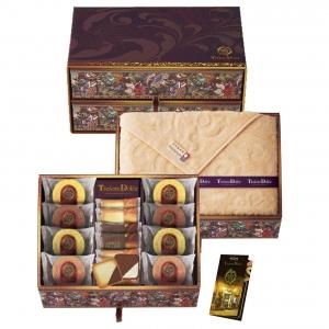 Tresore Dolce [宝石箱]フルーツカラーバウム&今治産タオル