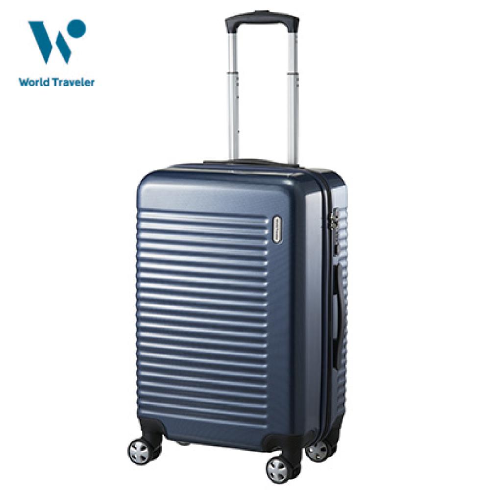 43リットル スーツケース ネイビーカーボン