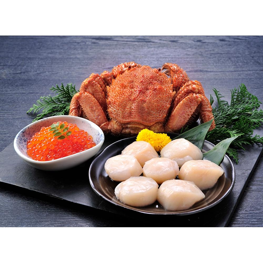 北海道産 海鮮セット(3種)