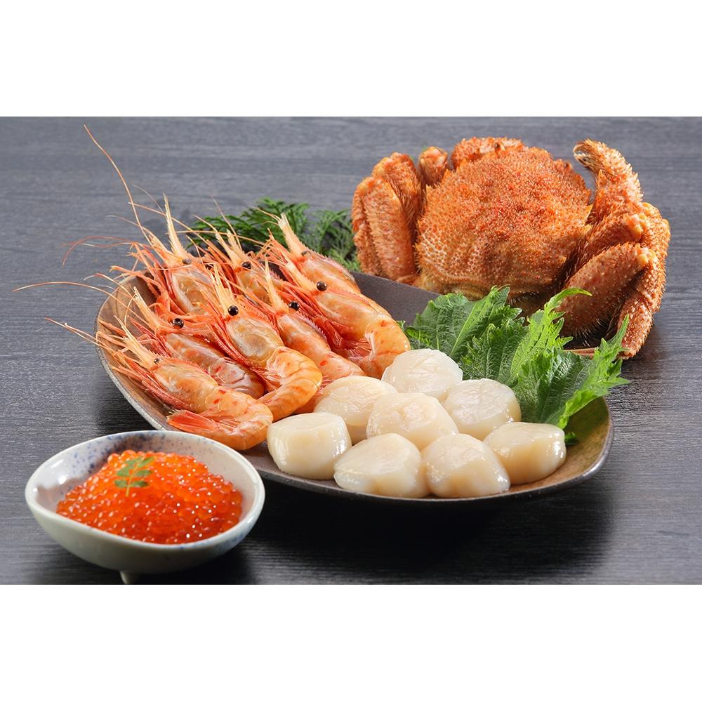 北海道産 海鮮セット(4種)