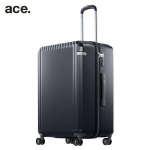 ace. 98リットルスーツケース ブラックカーボン