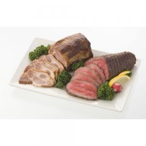 「神戸ハング」手焼きローストビーフと焼豚