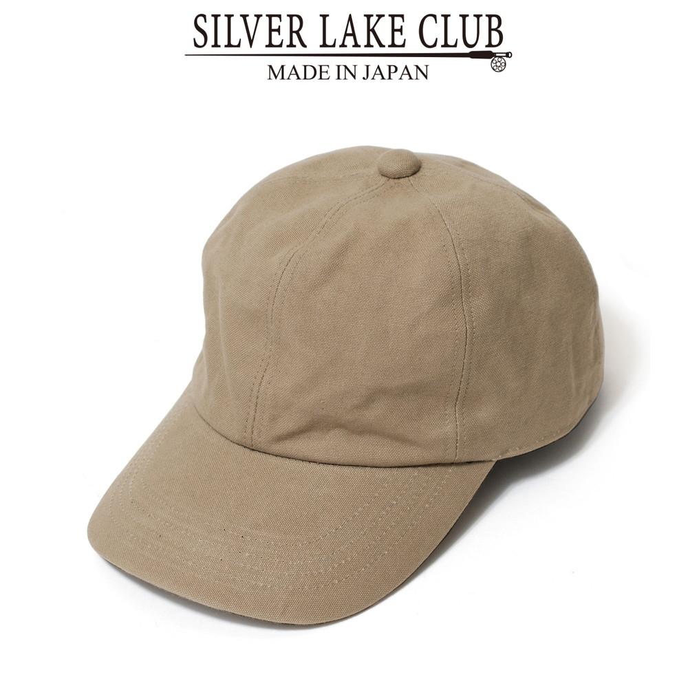 <SILVER LAKE CLUB>9号帆布キャップ