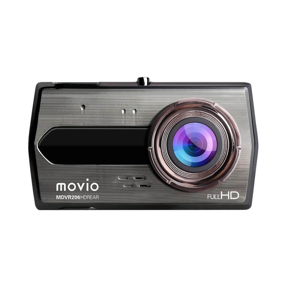 movio  高画質HDリアカメラ搭載 前後2カメラ ドライブレコーダー MDVR206HDREAR
