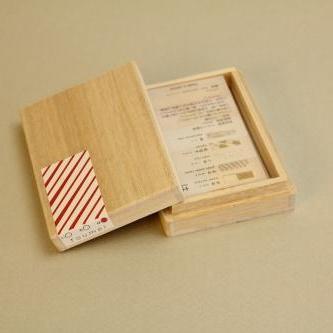 箔はしおき木箱セット <い> + カトラリーレスト ×2