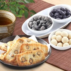 はべ黒庵 丹波黒豆の菓子とお茶セット