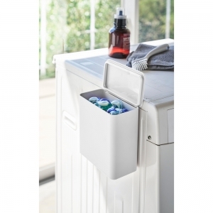 マグネット洗濯洗剤ボールストッカー タワー ホワイト