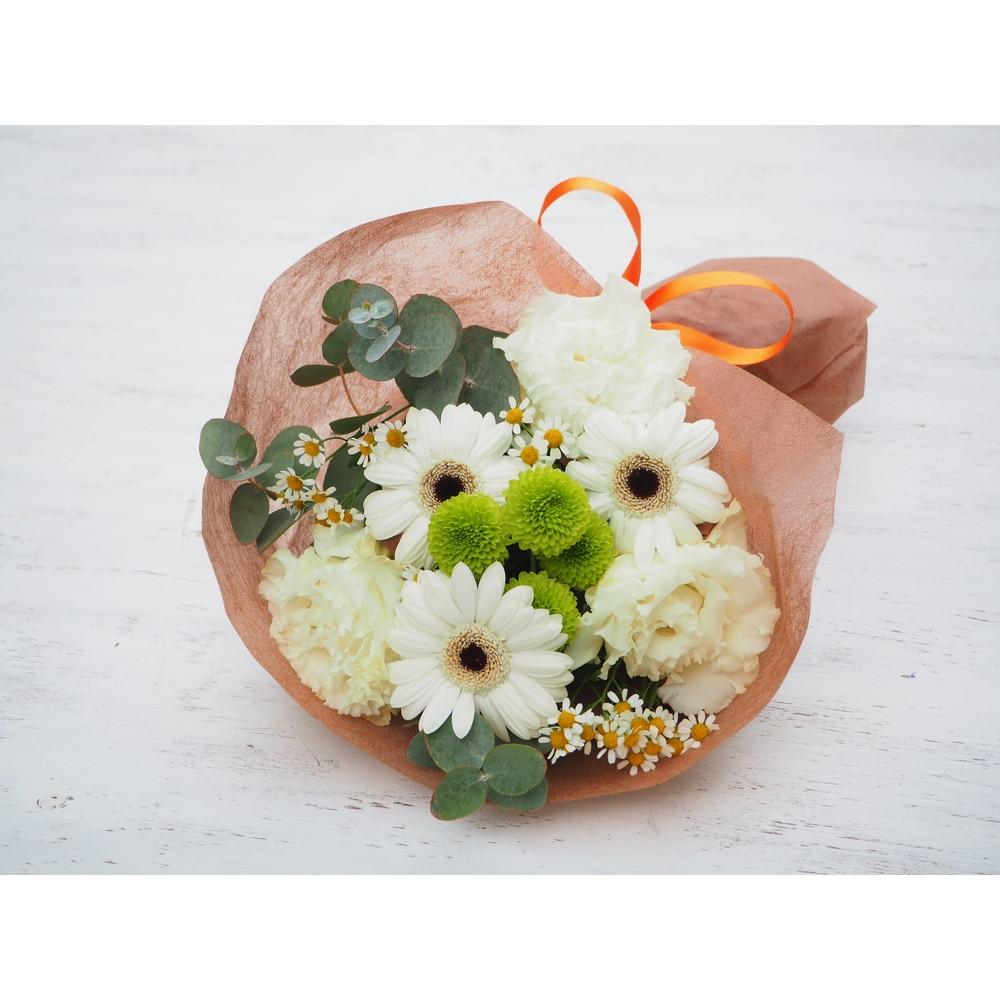 〈日比谷花壇〉花束(生花)グリーンホワイト系