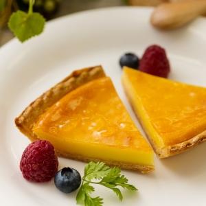 「1et1」 クリームチーズとバニラのタルト