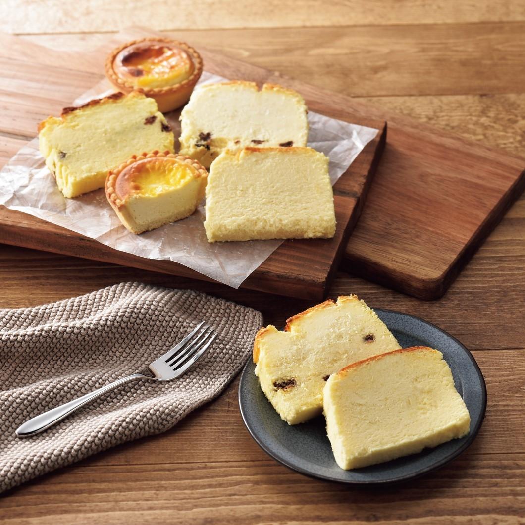 食べ切りチーズスイーツセット