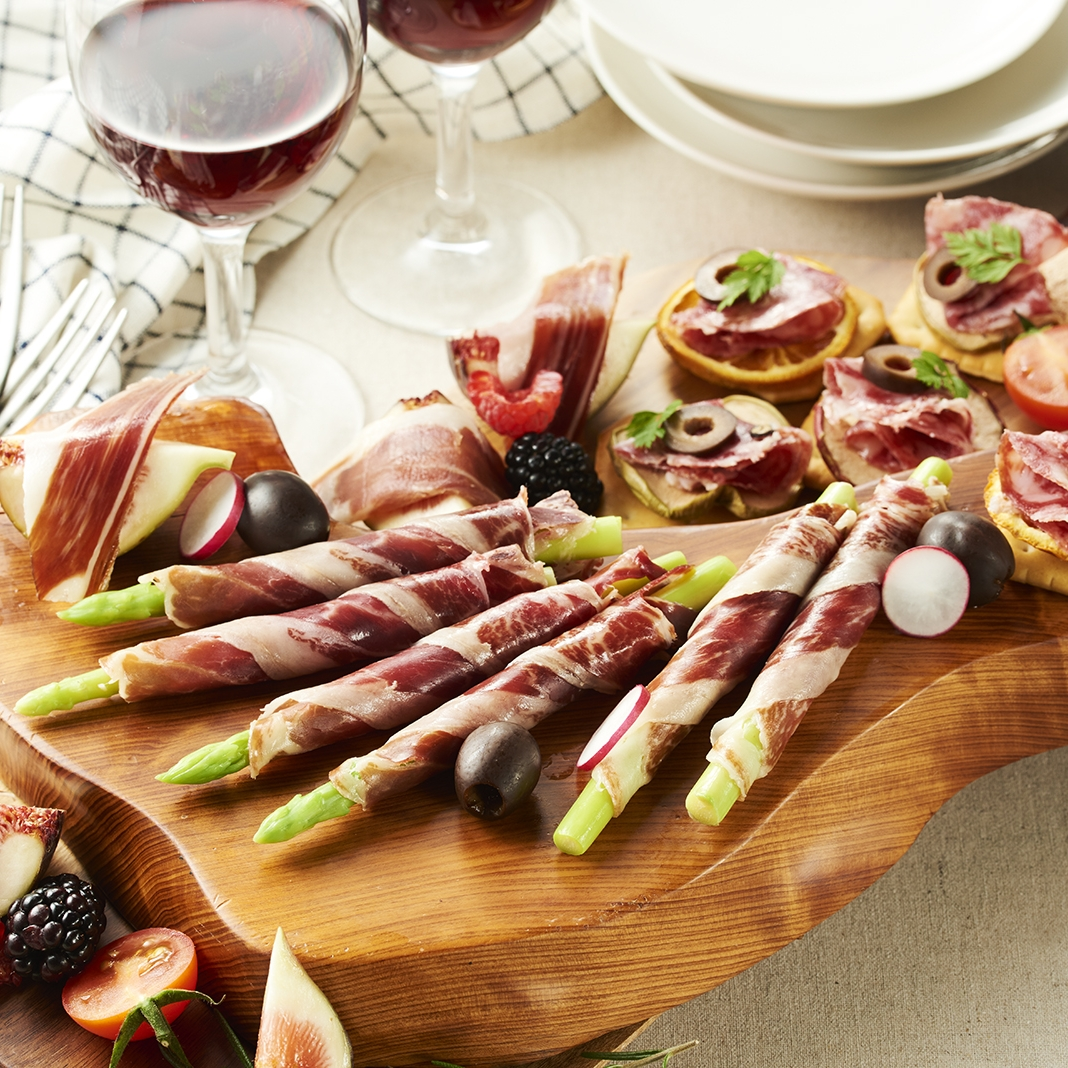 IBERICO-YA イベリコ豚生ハム 5種食べ比べセット