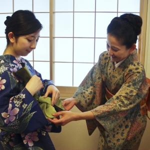 麗扇会日本文化学院 着付け受講5回 1名様