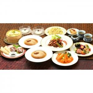 上海料理 状元樓 上海コース 2名様