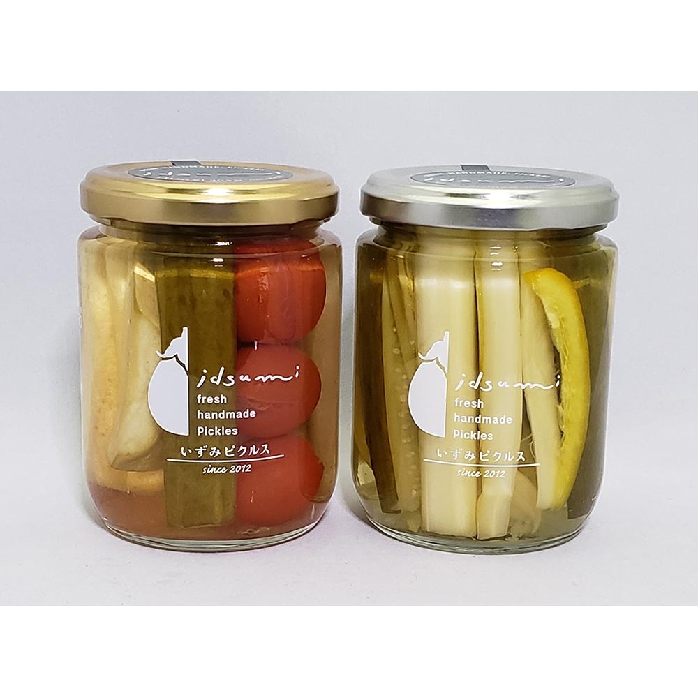 野菜のピクルス2種(水なすピクルス和風MIX・セロリときゅうりのピクルス)入り