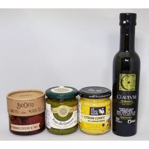 BIOORTO(ビオオルト)ドライトマトのオリーブオイル漬け・ジェノベーゼペースト(伝統レシピ)・シトロンコンフィ・CLADIVM(クラディウン)オリーブオイル