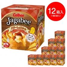 Jagabeeバターしょうゆ味 12袋