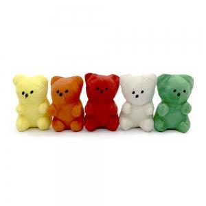ペット用玩具(グミベア) 5色 RED(3),YELLOW(3),GREEN(2),IVORY(2),ORANGE(3)