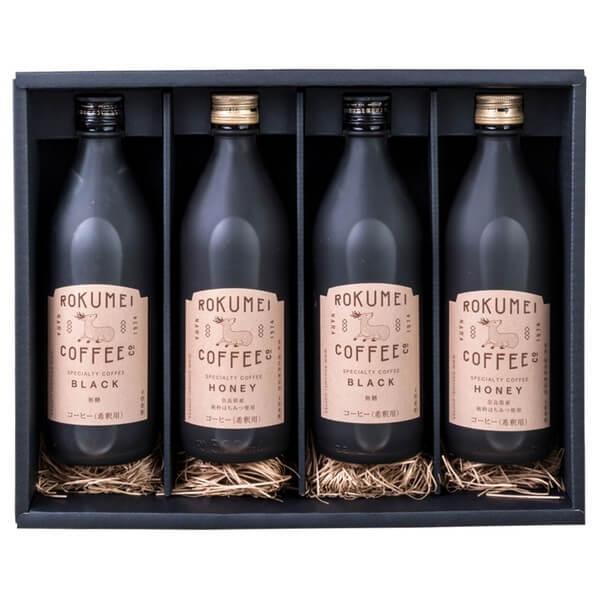 ギフト ロクメイコーヒー カフェベース 4本