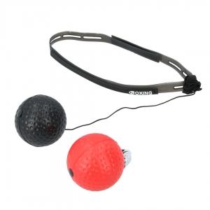 パンチングボール(赤ボール×黒ボール)