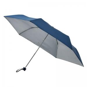 UV晴雨兼用耐風式軽量ミニ傘 ネイビー