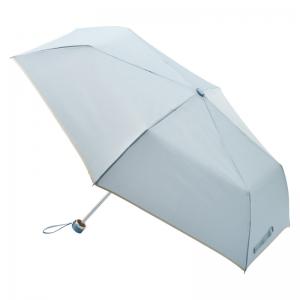 耐風式軽量ミニ傘 ブルー