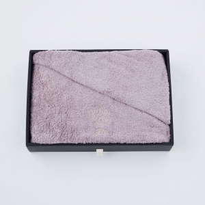 【Foo Tokyo】 オーガニックコットン バスタオル1枚入り ギフトセット ピンク