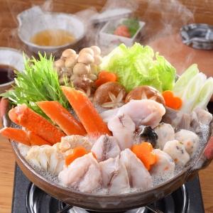 蟹とふくの紅白ちり鍋詰合せ