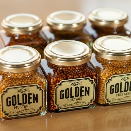ゴールデンマスタード(ゴールド2個 ブラウン1個)