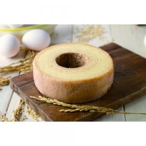 ちばの逸品を発掘金賞受賞のブランド米粉で作ったバウムクーヘン2種セット