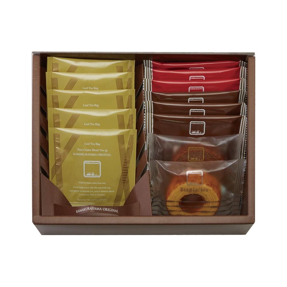 鎌倉山 焼菓子&紅茶詰合せ