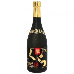 五年古酒ブレンド「くらブラック」30度720ml