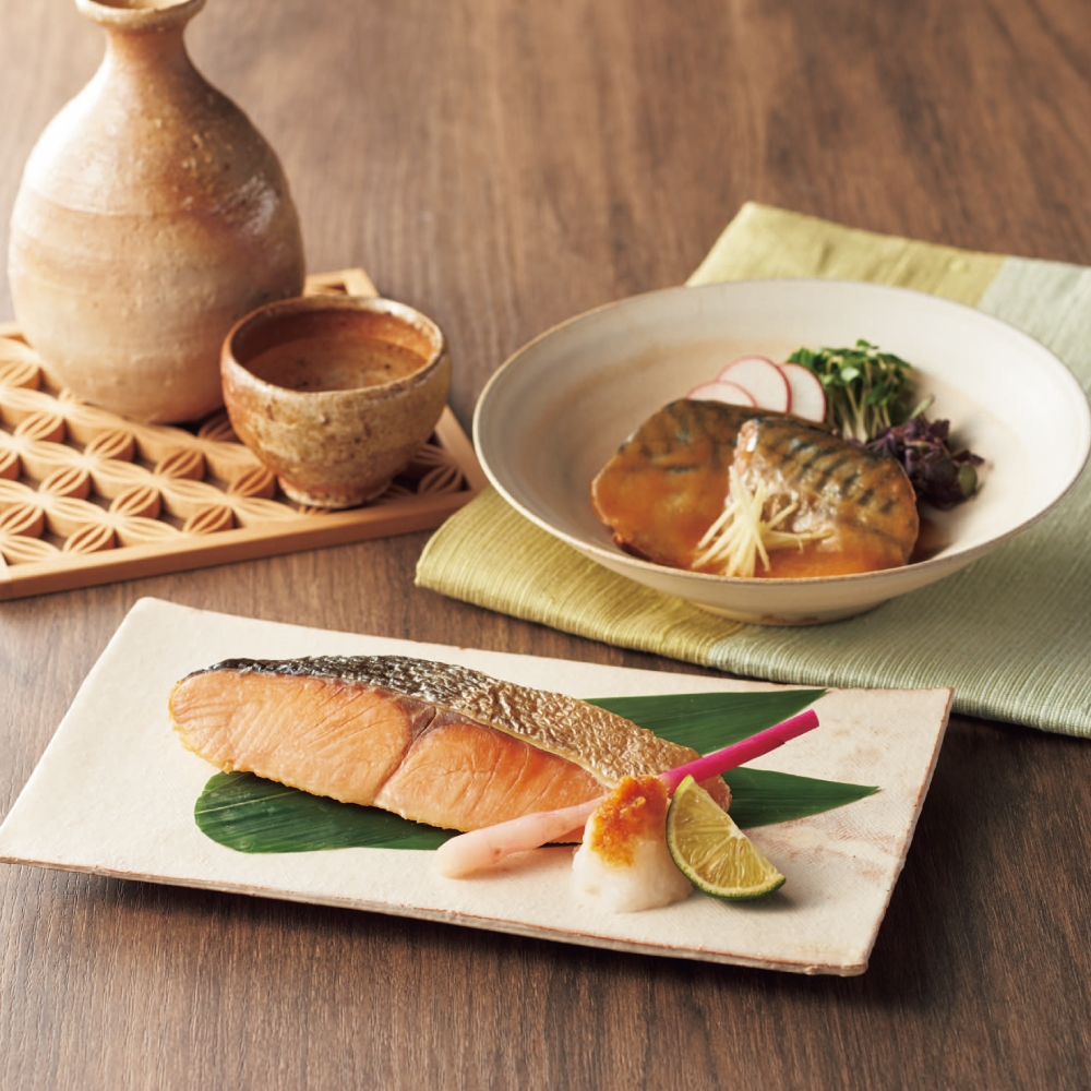 〈活黒〉煮魚・焼魚個食パック詰合せ