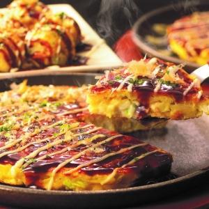 〈千房〉お好み焼・たこ焼チョイスセット
