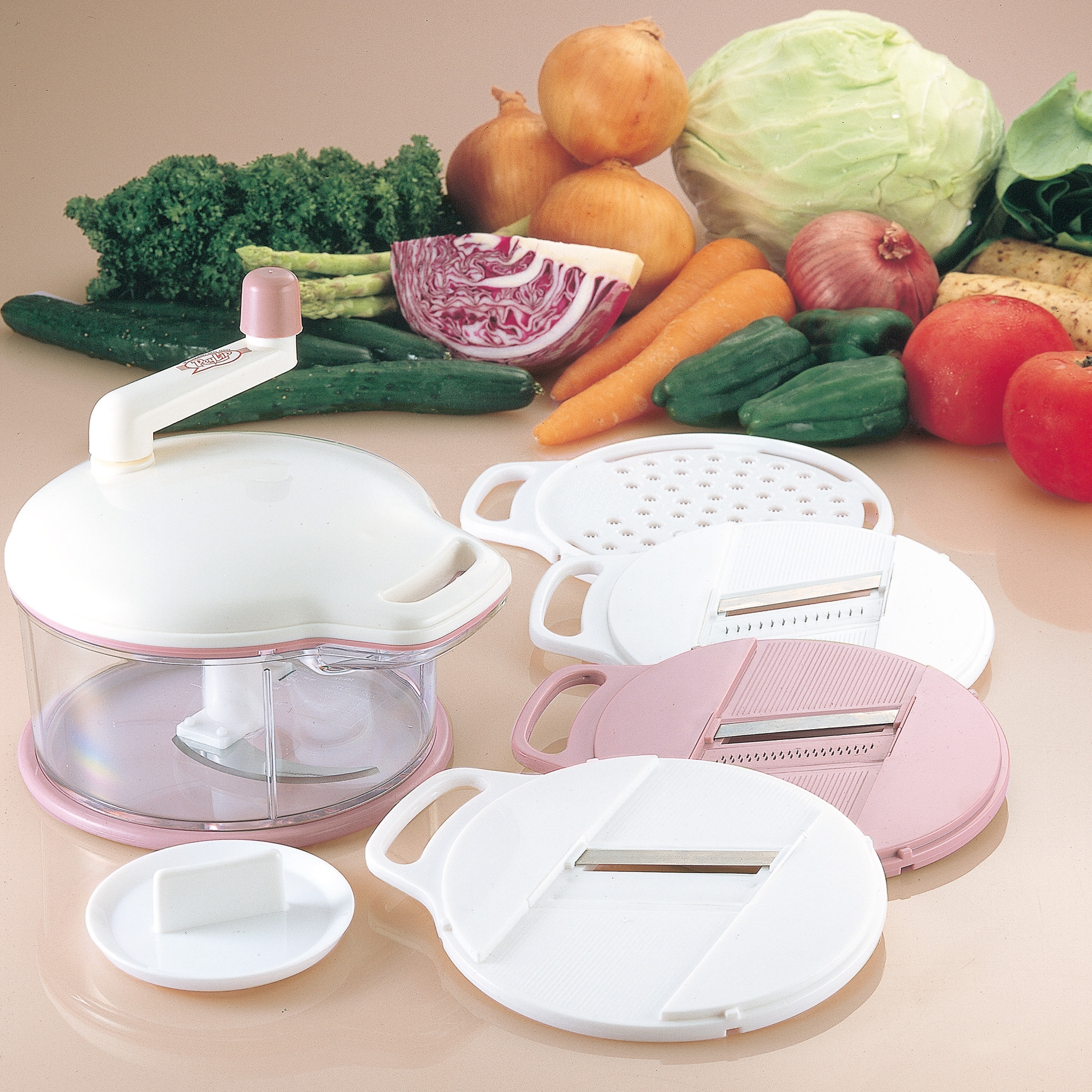 レリップ みじん切り器&野菜調理器セット