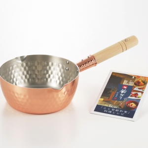 鈴なり 純銅雪平鍋 18cm